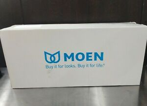"""Moen DN0724CH Chrome Finish 24"""" Hotel Towel Shelf. Iso Collection"""