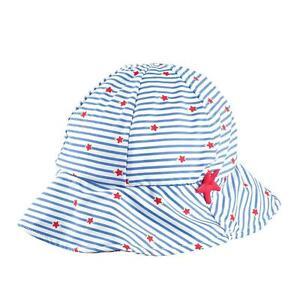 Archimede Mini Girls Beachwear Sonnenschutz Mütze mit Sternchen Gr. 62   NEU