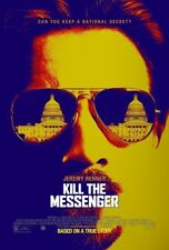KILL THE MESSENGER MOVIE POSTER 2 Sided ORIGINAL 27x40 JEREMY RENNER