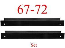 67 72 Chevy 2Pc Inner Rocker Backing Plate Set, GMC, Truck Both Left & Right