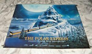 The Polar Express Original UK Quad Movie Cinema Poster 2004 Tom Hanks