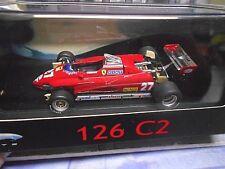 FERRARI F1 126 C2 126C2 #27 Villeneuve 1982 Sonderpreis Hot Wheels Elite 1:43