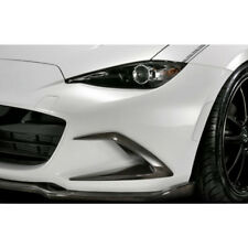 Front Bumper Air Vent Duct Cover Trim For MX5 ND5RC Miata Roadster Carbon Fiber