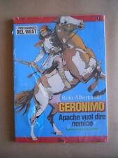 I protagonisti del West n°1 Geronimo Rino Albertarelli ed. Hobby Wor [D50] BUONO