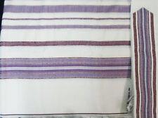 NONSLIP WOOL TALLIT - Made in Israel Jewish Prayer Shawl - Non Slip - SIZE 50