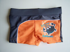 BOXER STYLE SWIM TRUNKS CRAB DESIGN AGE 6 MONTHS FRENCH DESIGN
