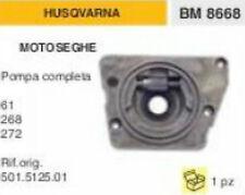 POMPA OLIO COMPLETA MOTOSEGA HUSQVARNA 61 268 272 codice: 501.5125.01