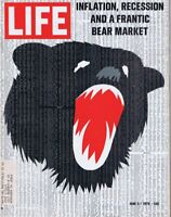 ORIGINAL Vintage Life Magazine June 5 1970 Bear Market