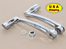Chrome CNC Cut  Shift Lever W/Shifter Pegs Pedal For 1997-2016 Harley Touring