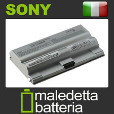 Batteria Argento 10.8-11.1V 5200mAh per Sony Vaio VGN-FZ31M