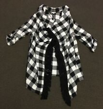 Lily Loves Check Cardigan - Size Small - New With Tags