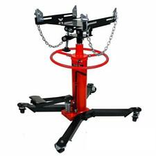 1100Lbs 2 Stage Hydraulic Transmission Jack w/ 360°Swivel Wheels Lift Hoist Rn
