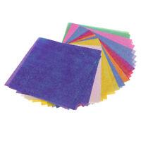 50 PCS Farbiges Origami Papier Faltpapier Dekopapier für handgemachtes