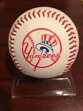 1998 WORLD SERIES & NEW YORK YANKEES LOGO BASEBALL
