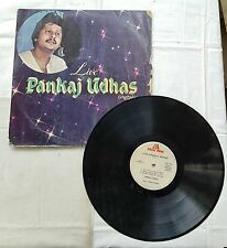 "1982's VINTAGE 33 1/3 RPM ""LIVE URDU GHAZALS""PANKAJ UDHAS- LP MUSIC INDIA RECORD"