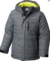 Columbia Alpine Free Fall Ski Snowboarding Coat Mens Size UK XL Grey *Ref100
