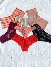 NWT Victoria's Secret Lot of 7 Panties - Size Medium - Various Colors & Styles
