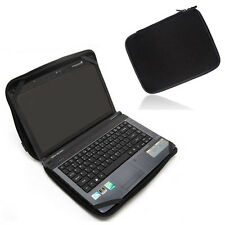 "AU Black 15"" Laptop Sleeve Bag Case Cover For 15.6 Dell MSI Toshiba Asus Lenovo"