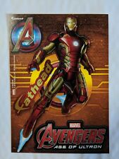 "Ironman - Avengers Age of Ultron - Marvel Fathead Tradeables 5"" x 7"" New"