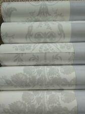 Laura Ashley Josette Dove Grey / White wallpaper rolls Same Batch Price per roll