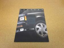 1993 93 GMC Typhoon Sales Brochure Catalog Dealer Literature 12 page folder