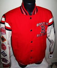 BOSTON RED SOX 9 Time World Series Championship Jacket  M L XL 2X
