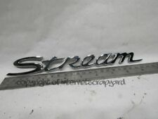 Honda Stream 1.7 Vtec 00-06 D17 tailgate boot honda stream badge logo writing