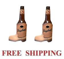 Leinenkugels Cowboy Boot 2 Beer Bottle Coolers Huggie Koozie Coolie Coozie New