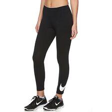 NWT NIKE Women's Cropped Capri Leggings Workout Pants XL BLACK WHITE