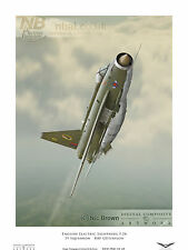 19 Squadron English Electric Lightning F.2A, RAF Gutersloh Digital Art Print
