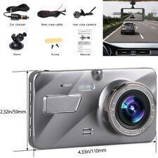 "4 ""Auto SUV HD DVR 170 ° Weitwinkel Video Recorder Loop Record + Rückfahrkamera"