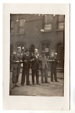 Coronation 1937 - McGall Photographer Smethwick Real Photo Postcard