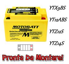 Motobatt Batteria Sigillata Attiva 12V 10,5Ah PiaggioVespa ET4 125 2000 2001
