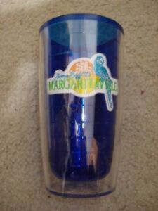 Jimmy Buffets Margaritaville Plastic Cup Keeps Drinks Hot and Cold