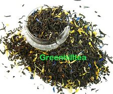Blue lady black tea loose leaf tea 1/4 LB bag