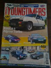 YOUNGTIMERS 34 RENAULT 5 ALPINE TURBO PORSCHE 993 MAZDA MX5 CHRYSLER VOYAGER