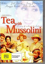 TEA WITH MUSSOLINI - JUDI DENCH & CHER NEW SEALED ALL REGION DVD