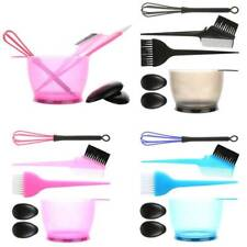 5pc/set Hairdressing Hair Dye Color Bowl Color Mixing Comb Brush Kit Tint Salon