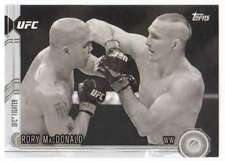 2015 Topps UFC Chronicles Black and White /188 #95 Rory MacDonald