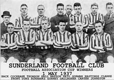 SUNDERLAND FOOTBALL TEAM PHOTO>1936-37 SEASON