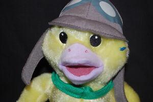 "Fisher Price Wonder Pet Ming Ming Yellow Duck 9"" Plush Stuffed Animal Lovey Toy"