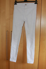 New Look white skinny jeans - size 8