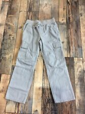 Gymboree Boys Pull On Cargo Grey Gray Pants Nwt Size 6