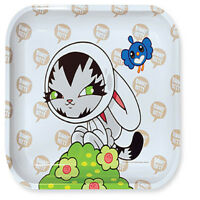 Persue Bunny Kitty Tobacco Metal Rolling Tray LARGE 14x11 *LIMITED EDITION*