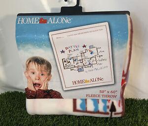 Home Alone fleece blanket - Official Merchandise Rare Kevins Plan