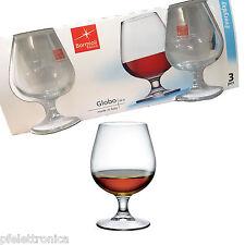 Confezione da 3 Calici 25 cl - BORMIOLI ROCCO GLOBO ideali per Cognac