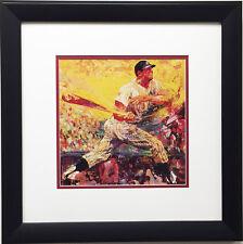 "LeRoy Neiman ""MICKEY MANTLE"" - Newly CUSTOM FRAMED Print - New York YANKEES MLB"