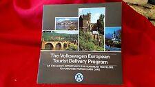 The Volkswagen European Tourist Delivery Program Sales Brochure NOS