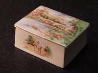 ROYAL WINTON 1930s Grimwades Pottery TRINKET BOX