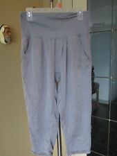 ULTRA COMFY LULULEMON SILK WASHED TENCEL STUDIO DANCE CROPS SIZE 4